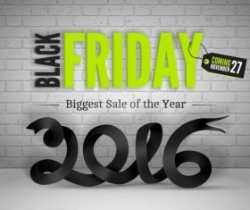 2016 Black friday background vectors material 10