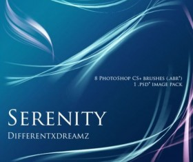 8 Kind serenity photoshop brushes