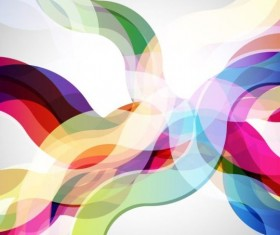 Abstract colored elements background vector 01