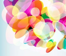 Abstract colored elements background vector 02