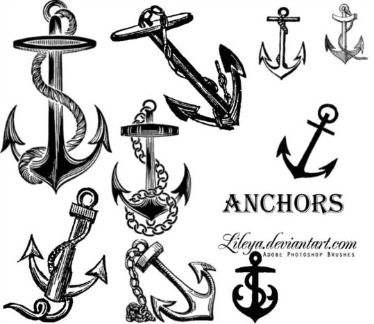 Anchors PS Brushes