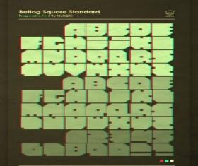 Betlog Square Standard fonts