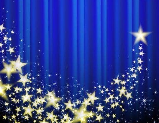 blue star background vector - photo #24