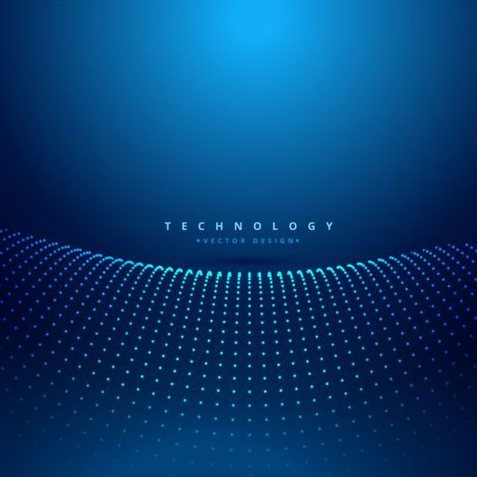 Blue teachnology backgrounds modern vector 07 - Vector Background free ...