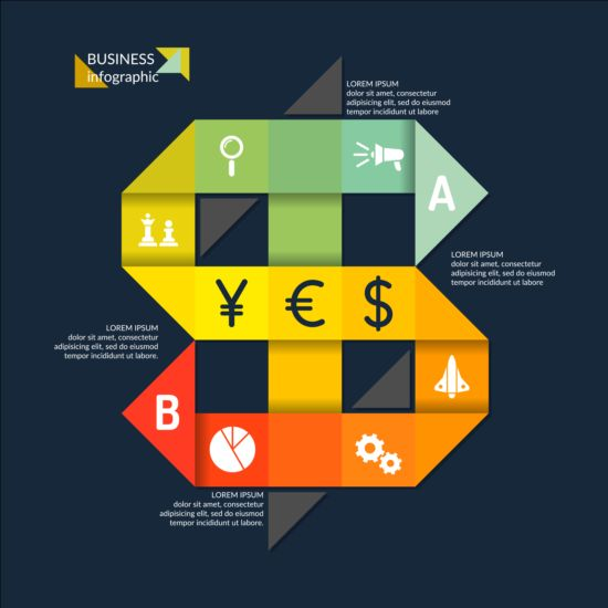Business Infographic creative design 4391