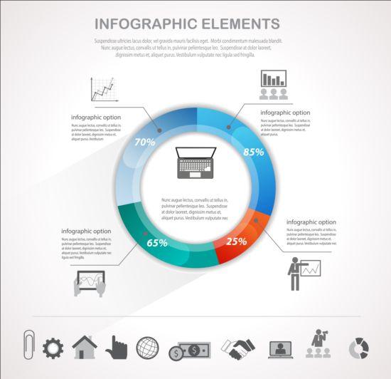 Business Infographic creative design 4402