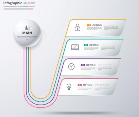 Business Infographic creative design 4445