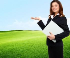 Business Women PSD material