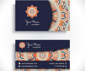 Free vector free stock photos free psd file free icons photoshop business card with ethnic pattern vector set 03 reheart Gallery