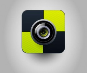 Camera application Icons creative design 02