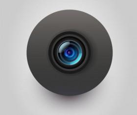 Camera application Icons creative design 04