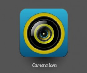 Camera application Icons creative design 06
