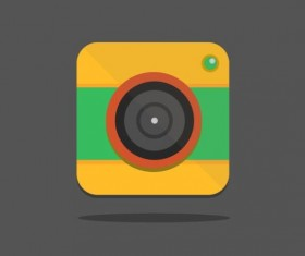 Camera application Icons creative design 07