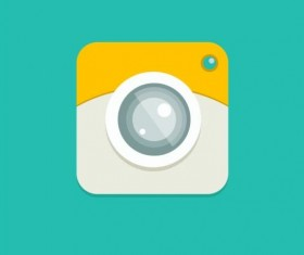 Camera application Icons creative design 08