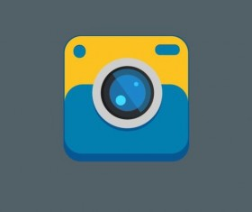 Camera application Icons creative design 09