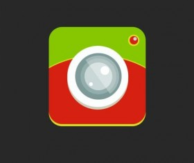 Camera application Icons creative design 12