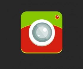 Camera application Icons creative design 12