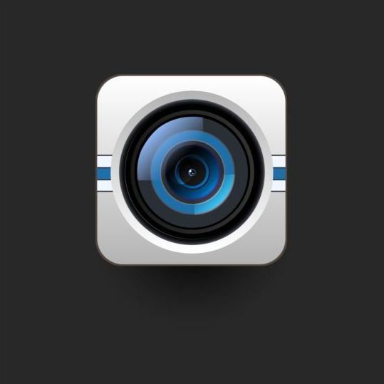 Camera application Icons creative design 14