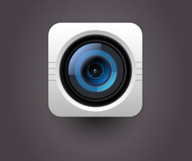 Camera application Icons creative design 16