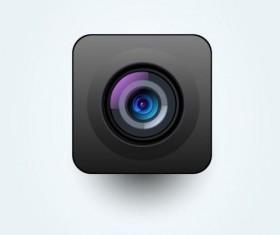 Camera application Icons creative design 17