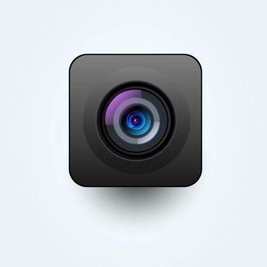 Camera application Icons creative design 17