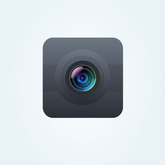 Camera application Icons creative design 18