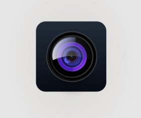 Camera application Icons creative design 19