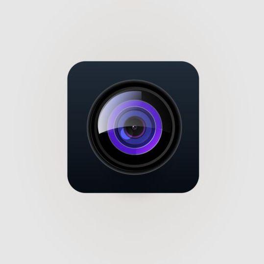 Camera application Icons creative design 19