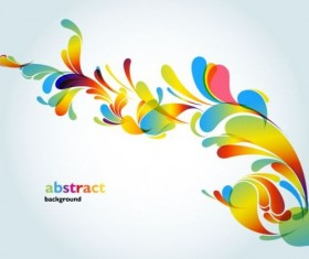 Colorful abstract background graphic vector