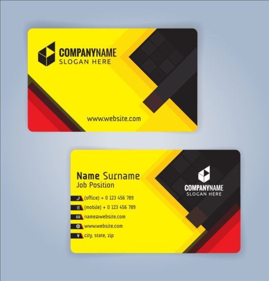 Creative business card black with yellow vector 02 free download creative business card black with yellow vector 02 reheart Images