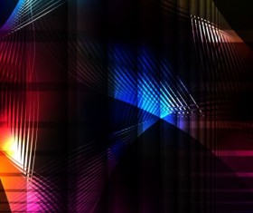 Dark abstract colored vector