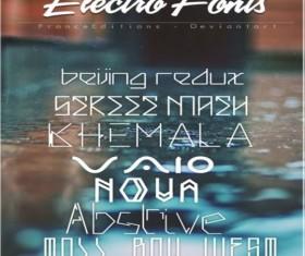 Electio fonts