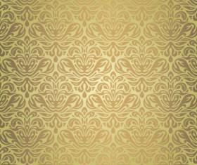 Green with brown vintage seamless grunge wallpaper design