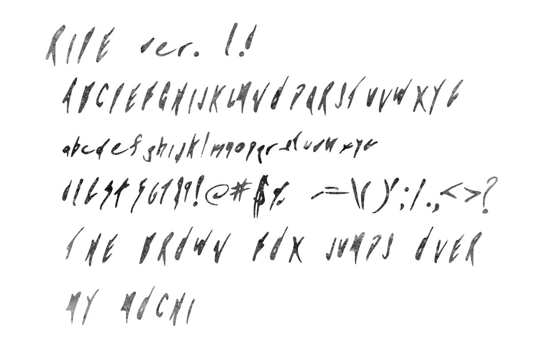 Ink Graffiti Fonts