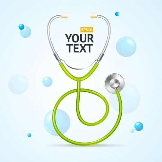 stethoscope vector for free download