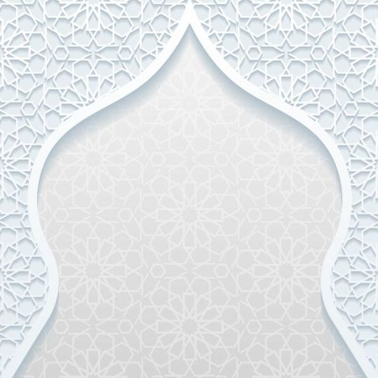 Mosque outline white background vector 04 - Vector Architecture ...