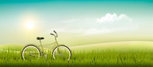 Nature summer background with green grass and bike vector 01 free nature summer background with green grass and bike vector 01 voltagebd Image collections