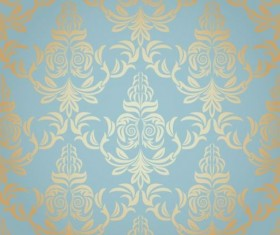 Ornate seamless patterns vintage styles vector 01