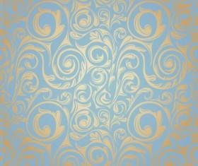 Ornate seamless patterns vintage styles vector 02