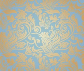 Ornate seamless patterns vintage styles vector 03