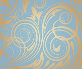 Ornate seamless patterns vintage styles vector 04