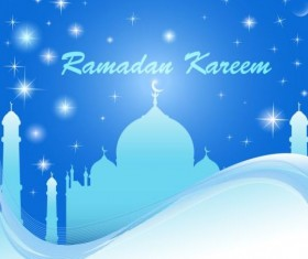 Ramadan kareem abstract vector background