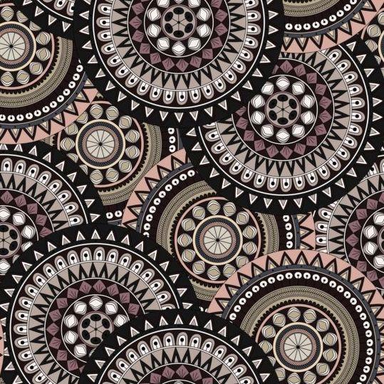 ... mandala seamless pattern vector 04 - Vector Pattern free download