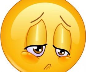 Sorrow emoticon icon