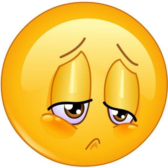 sorrow emoticon icon free download