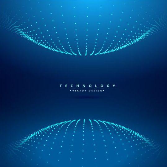 Spherical teachnology backgrounds vector 02