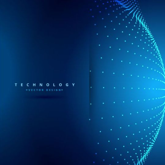 Spherical teachnology backgrounds vector 04