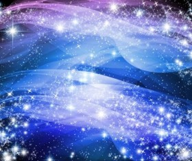 Star light and abstract background vector 01