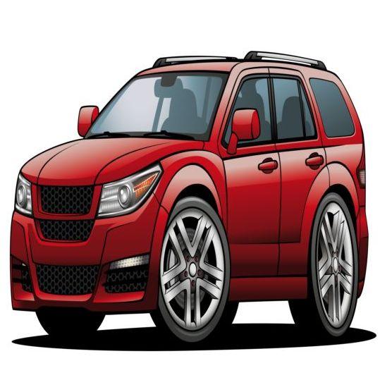 Suv Car Design Vector 01 Vector Car Free Download