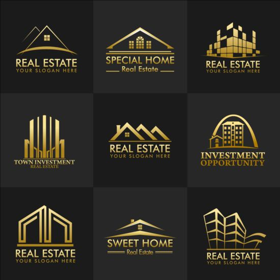 real estate logo design free download